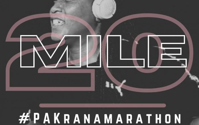 Mile 20: #PAKranamarathon